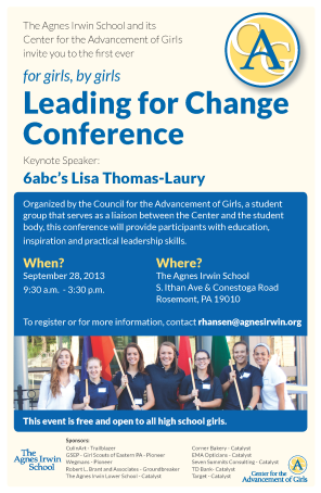 leadership conference poster